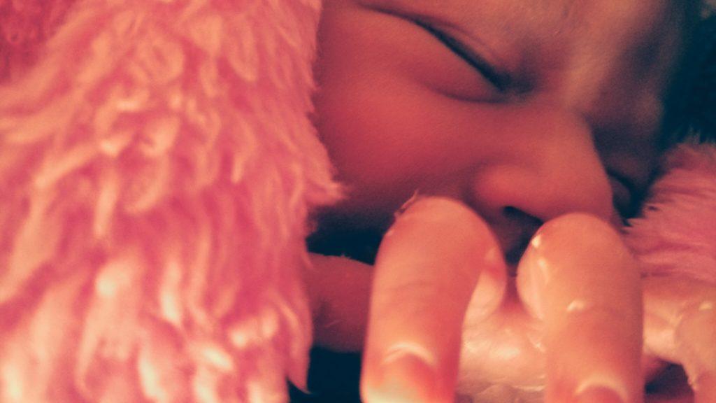 arquivo pessoal: minha filha Aurora em seu primeiro dia de vida extra uterina
